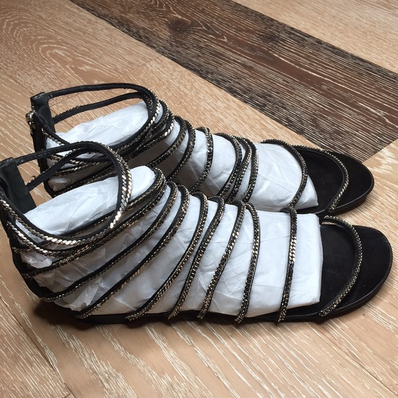 246b491ac197 Balmain Shoes - BALMAIN Paris Gladiator Sandals